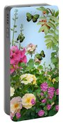 Wild Garden Portable Battery Charger by Ivana Westin