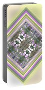 Hill Of Flowers Double Portable Battery Charger