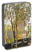 Notre Dame From The Window Portable Battery Charger