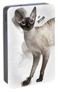 Cute Cornish Rex Youngster Portable Battery Charger