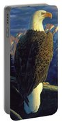 Morning Quest Portable Battery Charger by Crista Forest