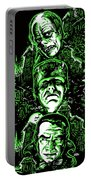 House Of Monsters Frankenstein Dracula Phantom Horror Movie Art Portable Battery Charger