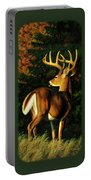 Whitetail Buck - Indecision Portable Battery Charger