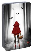 Little Red Riding Hood And The Wolf Portable Battery Charger