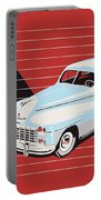 Dodge Showroom Poster Portable Battery Charger