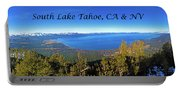 South Lake Tahoe, Ca And Nv Portable Battery Charger