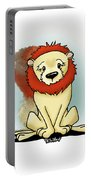 Lion Peaceful Reflection  Portable Battery Charger
