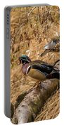 Wood Ducks Portable Battery Charger
