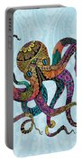 Electric Octopus Portable Battery Charger by Tammy Wetzel