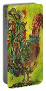 De Colores Rooster #2 Portable Battery Charger