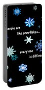 Snowflakes 4 Portable Battery Charger