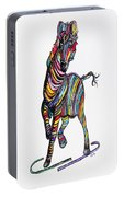 Kaleidoscope Zebra -- Baby Strut Your Stuff  Portable Battery Charger
