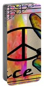 Peace In Every Color Portable Battery Charger