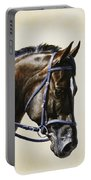 Dressage Horse - Concentration Portable Battery Charger