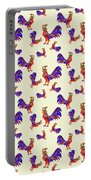 Red Rooster Art Portable Battery Charger