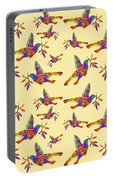 Dove With Olive Branch Portable Battery Charger
