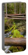 As The Creek Flows Portable Battery Charger