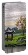 Asian Landscape Portable Battery Charger