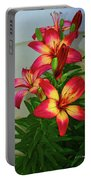 Asian Lilly Spring Time Portable Battery Charger