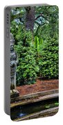 Asian Statue Jefferson Island  Portable Battery Charger