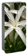 Asiatic Poison Lily Portable Battery Charger