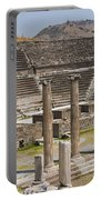 Asklepion Columns And Amphitheatre Portable Battery Charger