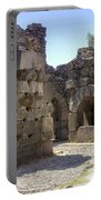 Asklepios Temple Ruins View 4 Portable Battery Charger