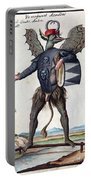 Asmodeus, King Of Demons, 18th Century Portable Battery Charger