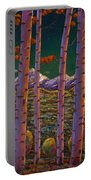 Aspen At Night Portable Battery Charger