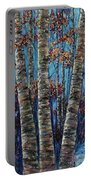 Aspen Forest In The Rocky Mountain Portable Battery Charger