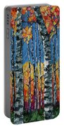 Aspen Grove By Olena Art Portable Battery Charger