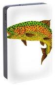 Aspen Leaf Rainbow Trout 1 Portable Battery Charger