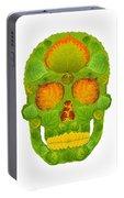 Aspen Leaf Skull 10 Portable Battery Charger