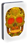 Aspen Leaf Skull 12 Portable Battery Charger