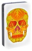 Aspen Leaf Skull 13 Portable Battery Charger