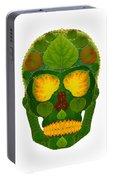Aspen Leaf Skull 9 Portable Battery Charger