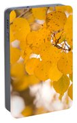 Aspen Leaves Portable Battery Charger
