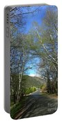 Aspen Lined Road Portable Battery Charger