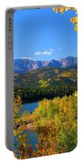 Aspen On Pikes Peak And Crystal Reservoir Portable Battery Charger