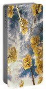 Aspen Tops Towards The Sky Vintage  Portable Battery Charger