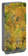 Aspens In Fall Eastern Sierras California Portable Battery Charger