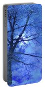 Asphalt-tree Abstract Refection 02 Portable Battery Charger