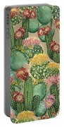 Assorted Blooming Cactus Plants Portable Battery Charger