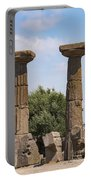 Assos Temple Of Athena Columns Portable Battery Charger