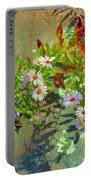 Aster Wildflowers Portable Battery Charger
