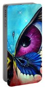 Astral Butterfly. Soul - Memory - Mind Portable Battery Charger