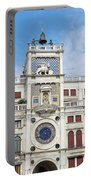 Astronomical Clock At San Marco Square Portable Battery Charger