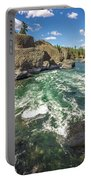 At Riverside Bowl And Pitcher State Park In Spokane Washington Portable Battery Charger