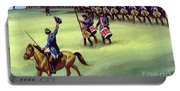 At Saratoga The Colonists Won Victory Portable Battery Charger