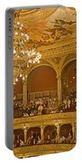 At The Budapest Opera Portable Battery Charger by Madeline Ellis